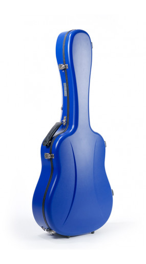 Dreadnought guitar case Premier series Blue