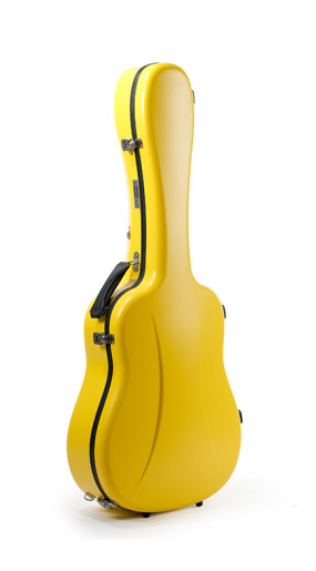Dreadnought Guitar Case Premier series 1 Lemon Yellow