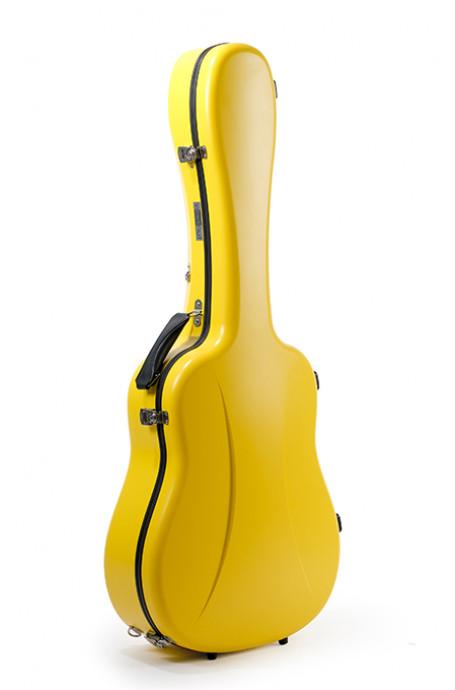 Dreadnought Guitar Case Premier series 1 Lemon Yellow