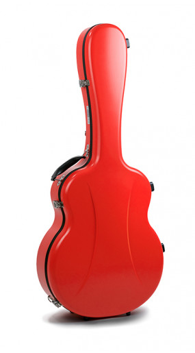 Jumbo guitar case Premier series 1 SCARLET RED