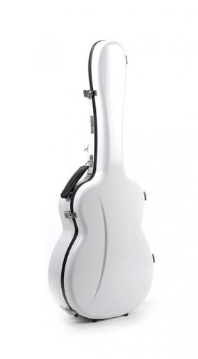OOO/OM guitar case Premier series 1 Gloss White