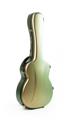 OOO/OM guitar case Premier series 1 BEETLE GREEN