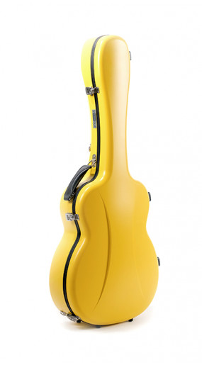 OOO/OM Guitar Case Premier series 1 Lemon Yellow