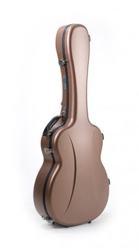 OOO/OM guitar case Premier series 1 Copper Bronze